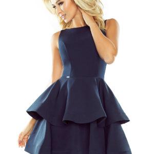 CRISTINA kjole marineblå fås hos Dahl Copenhagen