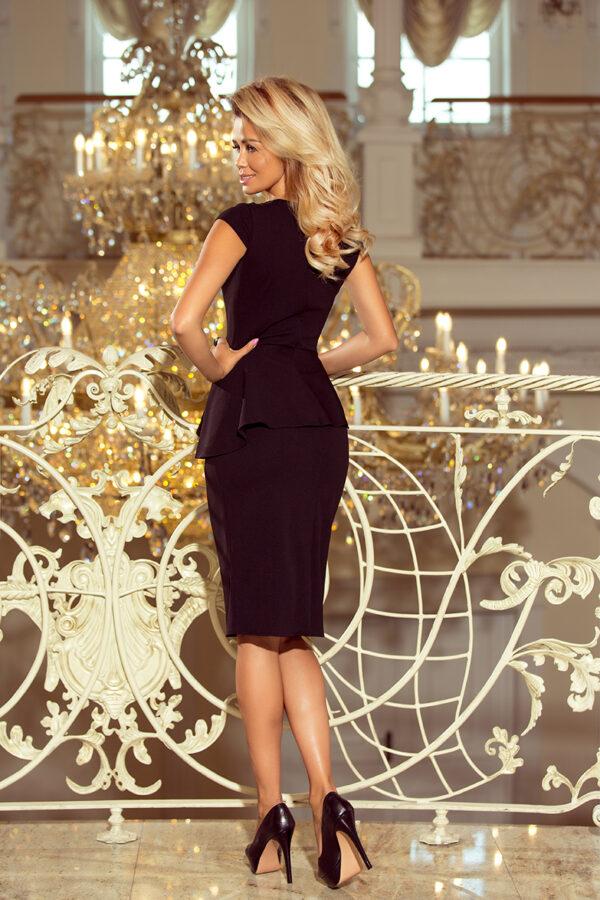 Sandy elegant kjole Sort fås hos Dahl Copenhagen