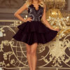 200 3 CHARLOTTE Exclusive dress with lace neckline black 2