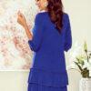 257 1 SUSAN dress with ruffles royal blue 3