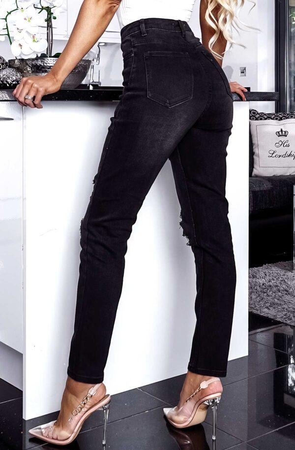 Ginnie Denim Ripped Jeans fås hos Dahl Copenhagen