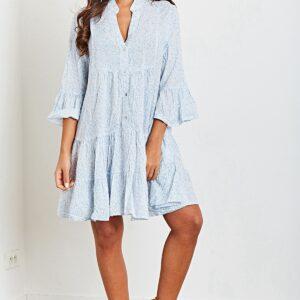 callie sommerkjole light blue