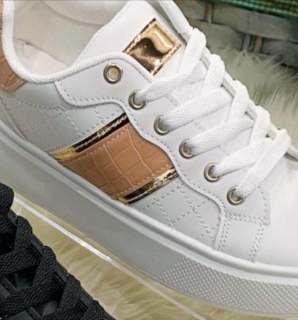 Feline Sneakers Hvid fås hos Dahl Copenhagen