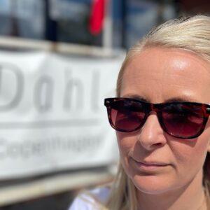 Magnolia Solbrille fås hos Dahl Copenhagen