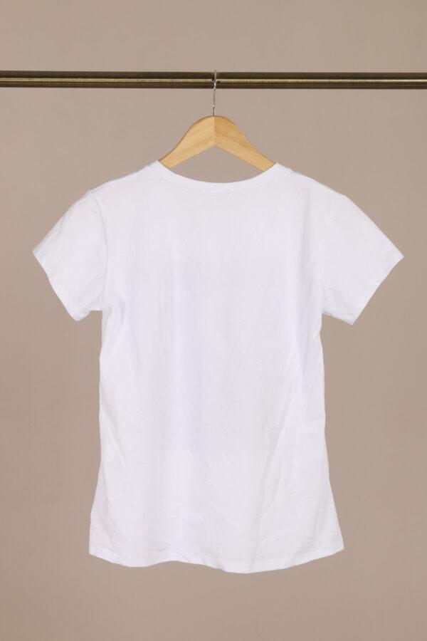 Coco T-shirt Hvid fås hos Dahl Copenhagen