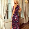 Lang farvet kjole 2